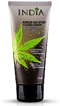 Fragrances, Perfumes, Cosmetics Hemp Oil Foot Cream - India Foot Cream With Cannabis