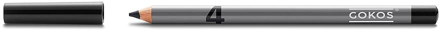 Eye Pencil - Gokos Kohl Kajal Eyeliner (203 -Moonwalk) — photo N1