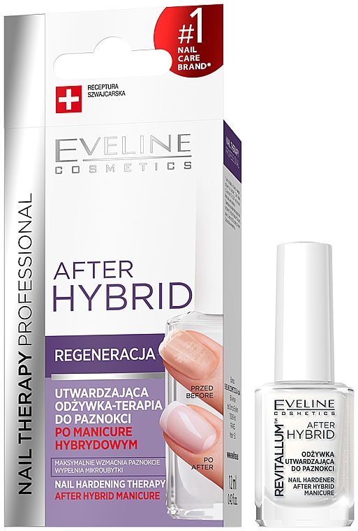 Nail Strengthening Conditioner - Eveline Cosmetics After Hybrid Manicure