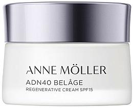 Fragrances, Perfumes, Cosmetics Face Cream - Anne Moller ADN40 Belage Regenerative Cream SPF15