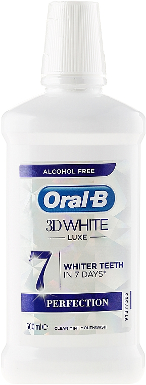 Mouthwash - Oral-b 3D White Luxe Perfection