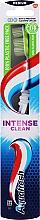 "Fragrances, Perfumes, Cosmetics Medium Hard Toothbrush ""Intense Clean"", light green - Aquafresh Intense Clean Medium"