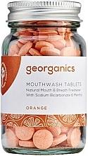 "Fragrances, Perfumes, Cosmetics Mouthwash Tablets ""Orange"" - Georganics Mouthwash Tablets Orange"