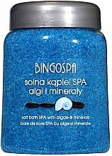 Fragrances, Perfumes, Cosmetics Bath Salt with Sea Algae and Minerals - BingoSpa