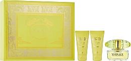 Fragrances, Perfumes, Cosmetics Versace Yellow Diamond - Set (edt/50ml + b/l/50ml + sh/g/50ml)