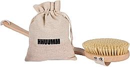 Fragrances, Perfumes, Cosmetics Dry Massage Body Brush #4 - Hhuumm