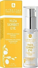 Fragrances, Perfumes, Cosmetics Eye Serum-Gel - Erborian Yuza Sorbet Eye