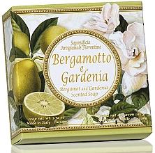 Fragrances, Perfumes, Cosmetics Bergamot & Gardenia Natural Soap - Saponificio Artigianale Fiorentino Capri Bergamot & Gardenia Soap