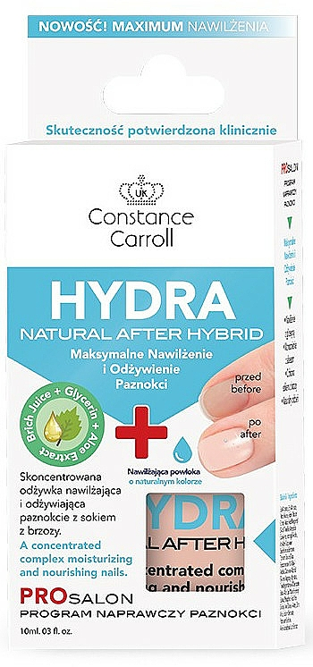 Nail Conditioner - Constance Carroll Nail Care Hydra Natural After Hybrid
