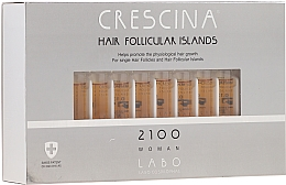 Fragrances, Perfumes, Cosmetics Women Re-Growth Hair Lotion 2100 - Crescina Hair Follicular Island 2100 Woman