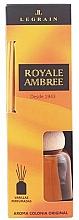 Fragrances, Perfumes, Cosmetics Legrain Royale Ambree - Reed Diffuser