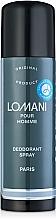 Fragrances, Perfumes, Cosmetics Parfums Parour Lomani - Deodorant