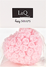 """Fragrances, Perfumes, Cosmetics Natural Hand Made Soap """"Heart with Roses"""" with Cherry Scent - LaQ Happy Soaps Natural Soap"""