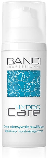 Intensive Moisturizing Face Cream - Bandi Professional Hydro Care Intensive Moisturizing Cream