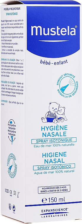 Isotonic Nasal Spray - Mustela Isotonic Nasal Spray — photo N2