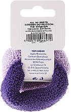 Elastic Hair Bands, purple mix - Top Choice — photo N2