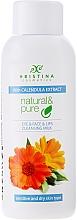 Fragrances, Perfumes, Cosmetics Calendula Cleansing Milk for Dry & Sensitive Skin - Hristina Cosmetics Cleansing Milk With Calendula Extract