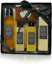 Fragrances, Perfumes, Cosmetics Set - Beeing True (sh/gel 175ml +sh/balm 175ml + salf 100ml + peel/100ml+towel)