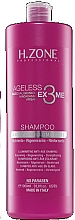 "Fragrances, Perfumes, Cosmetics Hair Shampoo ""Rejuvenating"" - H.Zone Ageless Ex3me Anti-Age Illuminante Shampoo"