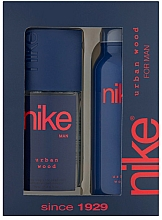 Fragrances, Perfumes, Cosmetics Nike Men Urban Wood - Set (deo/200ml + deo/spray/75ml)