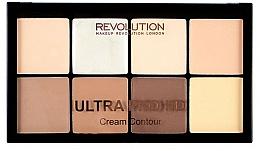 Fragrances, Perfumes, Cosmetics Face Contour Kit - Makeup Revolution HD Pro Cream Contour