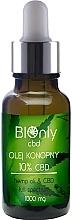 Fragrances, Perfumes, Cosmetics Hemp Oil CBD 10% - BIOnly