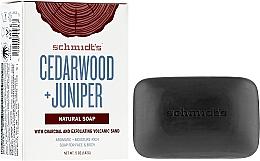 Fragrances, Perfumes, Cosmetics Soap - Schmidt's Naturals Bar Soap Cedarwood Juniper With Charcoal