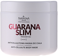 Fragrances, Perfumes, Cosmetics Anti-Cellulite Body Mask - Farmona Mask