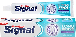 Fragrances, Perfumes, Cosmetics Toothpaste with Microgranules - Signal Long Active Intensive Cleaning