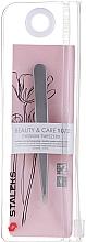 Fragrances, Perfumes, Cosmetics Tweezers with Wide Handles, tapered - Staleks