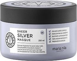 Fragrances, Perfumes, Cosmetics Anti-Yellow Mask for Colored Hair - Maria Nila Sheer Silver Masque