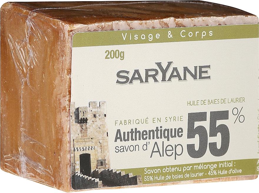 Soap - Saryane Authentique Savon DAlep 55%