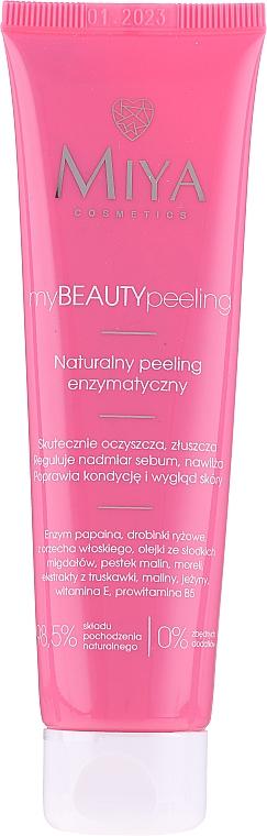 Natural Enzyme Face Peeling - Miya Cosmetics My Beauty Peeling