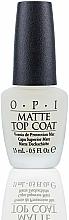 Fragrances, Perfumes, Cosmetics Matte Top Coat - O.P.I Matte Top Coat