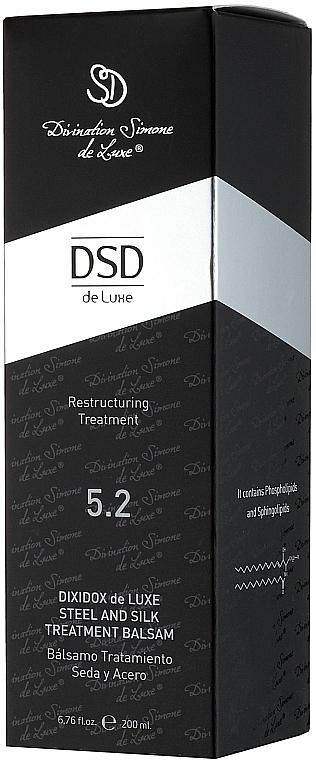 Dixidox de Luxe Steel & Silk Restructuring Balsam #5.2 - Divination Simone De Luxe Dixidox DeLuxe Steel and Silk Treatment Balsam — photo N4