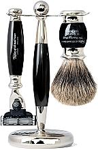 Fragrances, Perfumes, Cosmetics Set - Taylor of Old Bond Street Mach3 (razor/1szt + sh/brush/1szt + stand/1szt)