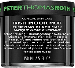 Fragrances, Perfumes, Cosmetics Cleansing Face Mask - Peter Thomas Roth Irish Moor Mud Purifying Black Mask