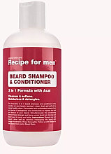 Fragrances, Perfumes, Cosmetics Beard Shampoo-Conditioner - Recipe for Men Beard Shampoo & Conditioner