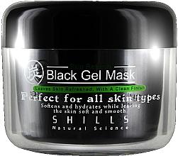 Fragrances, Perfumes, Cosmetics Facial Gel Mask - Shills Black Gel Mask