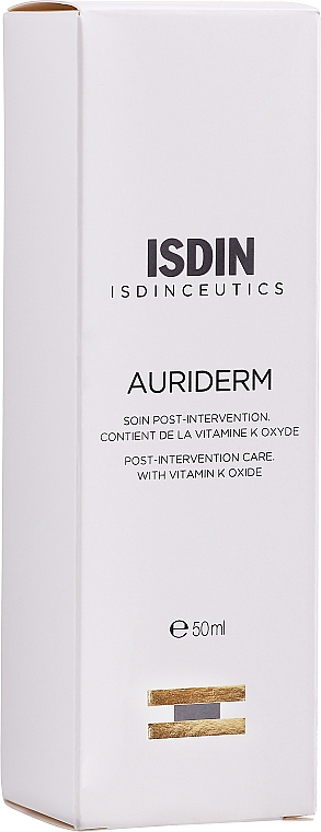 Bruise & Redness Cream - Isdin Isdinceutics Auriderm Creme — photo N1