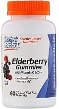 Fragrances, Perfumes, Cosmetics Elderberry with Zinc & Vitamin C - Doctor's Best Elderberry Vitamin C and Zinc Gummies