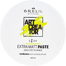 Fragrances, Perfumes, Cosmetics Extra Matte Effect Paste - Brelil Art Creator Extra Matt Paste