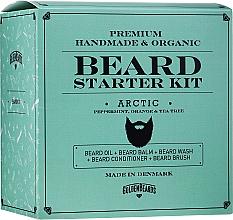 Fragrances, Perfumes, Cosmetics Set - Golden Beards Starter Beard Kit Arctic (balm/60ml + oil/30ml + shm/100ml + cond/100ml + brush)