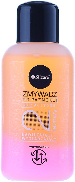 """Polish Remover Liquid """"Peach Seeds and Silk Proteins"""" - Silcare"""