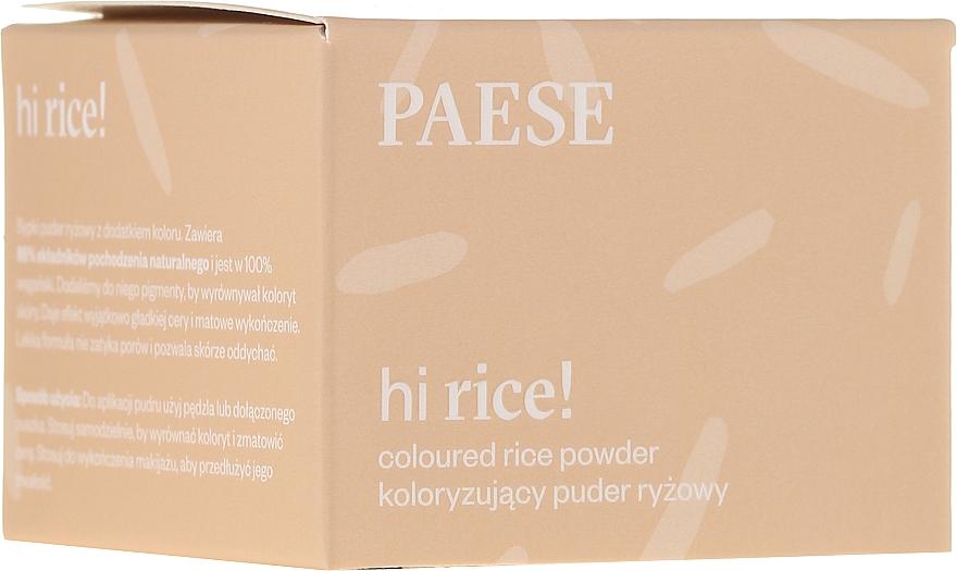 Colored Rice Powder - Paese Hi Rice Coloured Rice Powder