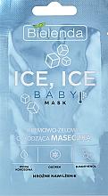 Fragrances, Perfumes, Cosmetics Cooling Face Mask - Bielenda Ice Ice Baby Mask