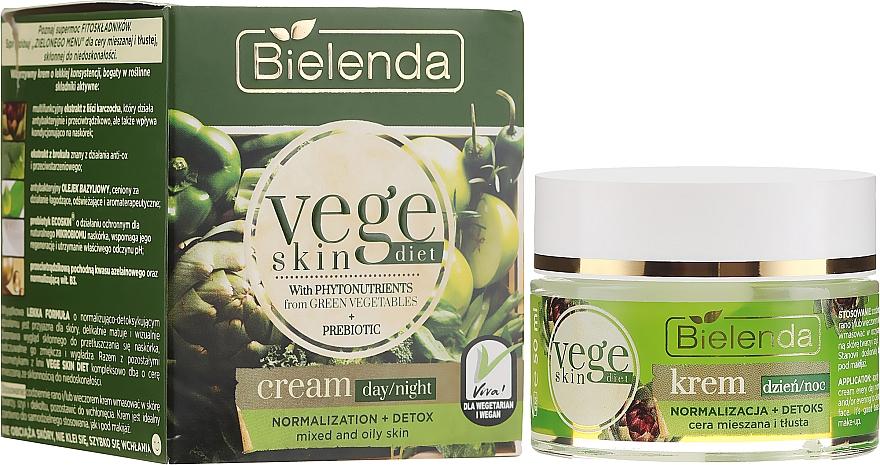 Cream for Combination and Oily Skin - Bielenda Vege Skin Diet