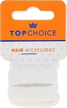 Fragrances, Perfumes, Cosmetics Elastic Hair Bands, 22609, white, 4 pcs - Top Choice