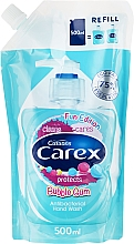 Fragrances, Perfumes, Cosmetics Antibacterial Liquid Soap - Carex Bubble Gum Hand Wash (Refill)