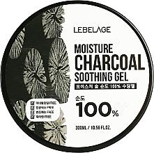 Fragrances, Perfumes, Cosmetics Moisturizing Coal Gel - Lebelage Moisture Charcoal 100% Soothing Gel